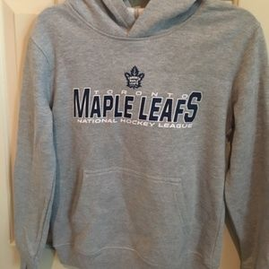 NWT Toronto Maple Leaf Hoodie Kids Size M